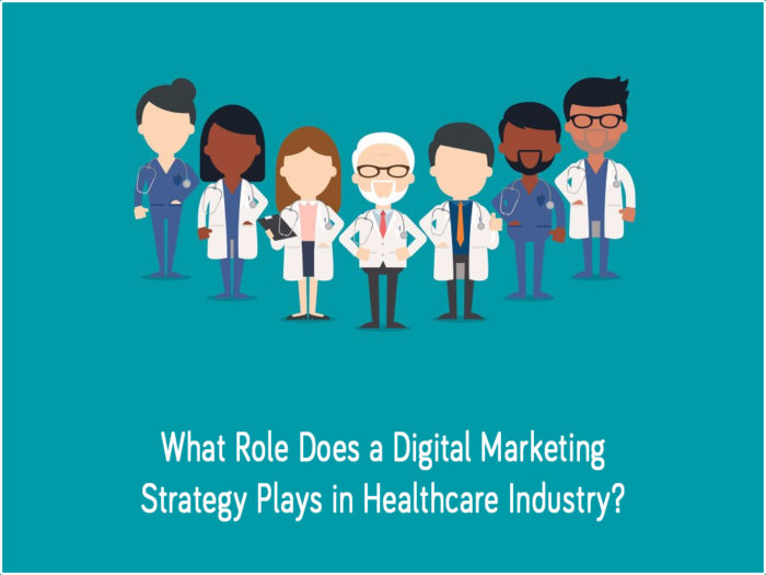 What Role Does a Digital Marketing Strategy Plays in Healthcare Industry