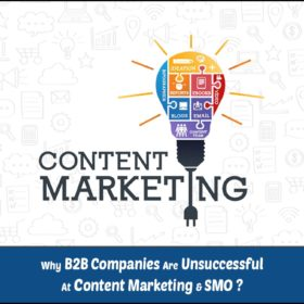 Why B2B Companies Are Unsuccessful at Content Marketing & SMO ?